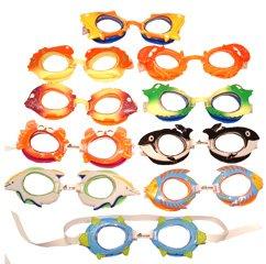 (Sprint Aquatics Children's Animal Swim Goggles - Blue Fish)