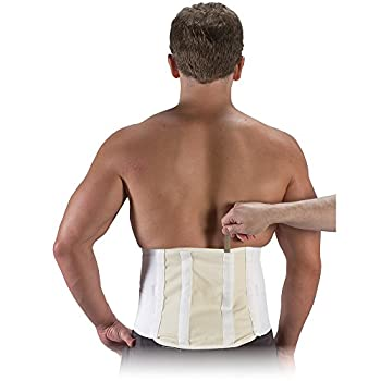 """10"""" SUPERBELT WITH PAD OR STEELS BACK SUPPORT (4XL, WHITE: WITH STEELS)"""