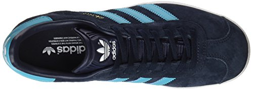 adidas Herren Gazelle Laufschuhe Blau (Legend Ink/energy Blue/footwear White)