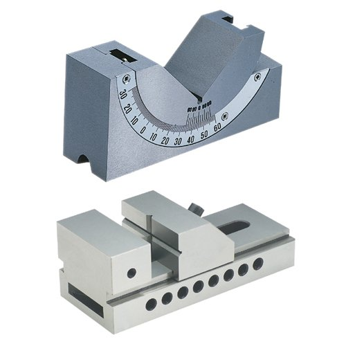 TTC 0~60º Precision Angle Block & Hi-Precision Screwless Vise