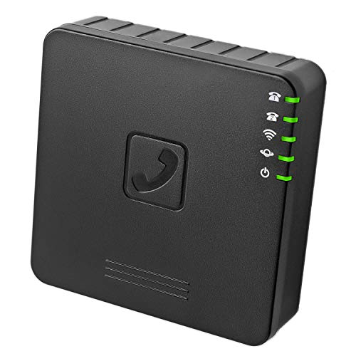 GT202 2-Port VoIP Phone Adapter - VoIP Wireless Router, Not Locked to Any Service for Home and Company