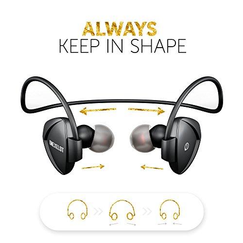 Sprinter. Sport Headphones-Bluetooth Headphones in Ear Waterproof-Wireless Headphones with Microphone-Running Headphones-for Women and Men-ONEXELOT