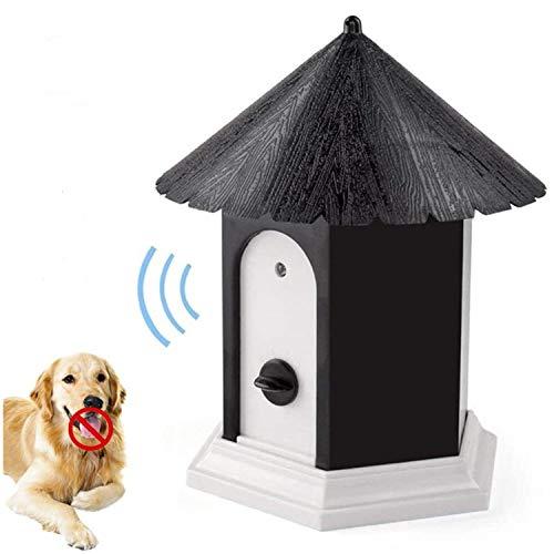 Outdoor Bark Control Device, Ultrasonic Stop Barking, Sonic Bark Deterrents Dog Silencer Bark Box for Small Medium Large…