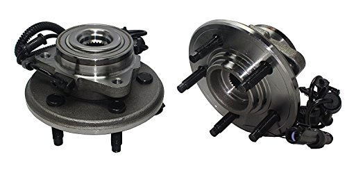 Front Hub Assembly - Brand New (Both) 2 Front Wheel Hub and Bearing Assembly - 5 Lug W/ ABS (Pair) - 2006-2010 Ford Explorer - [2007-2010 Explorer Sport-trac] - 2006-2010 Mountaineer