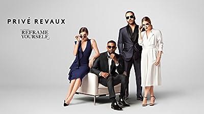 "PRIVE REVAUX ""The Scholar"" Handcrafted Designer Brownline Eyeglasses (Tortoise)"