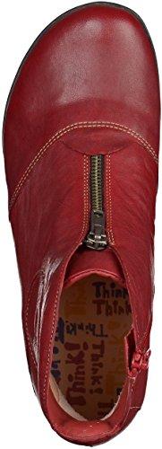 Think!  Bessa,  Damen Stiefel & Stiefeletten Rot - rot