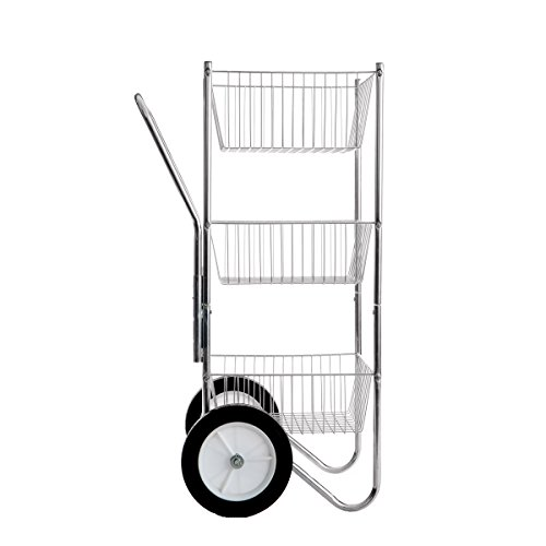 Rolling Saddle Cart - Apple Picker Basket Cart