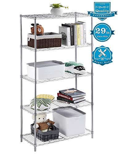 AOOU Shelf 5-Tier Shelving Unit, 29