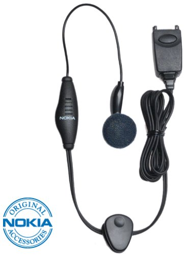 Nokia Hands-Free Earbud Headset Kit for Nokia Phones