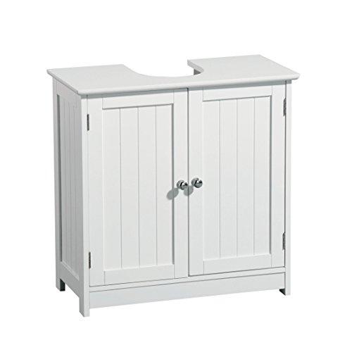 Premier housewares mueble para debajo del lavabo madera for Armarios bano amazon