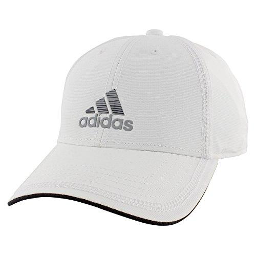 adidas Men s Contract II Cap, White/Grey Lo Stripe Print, One Size