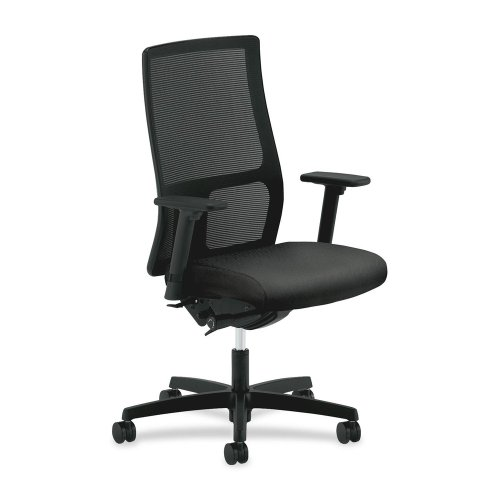 Mesh Mid Back Chair 46 Inch Black product image