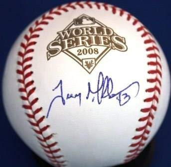 Trevor Miller Autographed Signed 2008 World Series Official Major League Baseball Autographed Signed Baseball - Certified ()