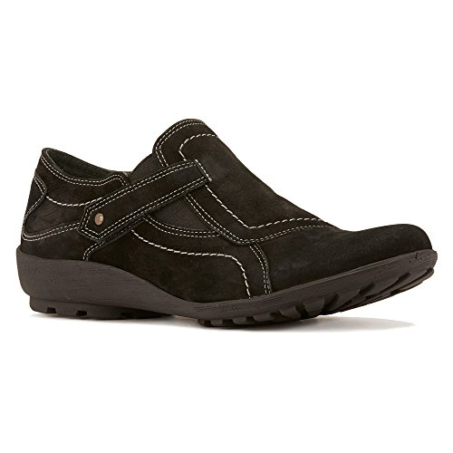 Walking Cradles Womens Hardy Oxford Black Roughout