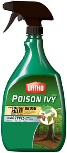 Ortho 0475010 MAX Poison Ivy & Tough Brush Killer Ready-To-Use, 24-Ounce
