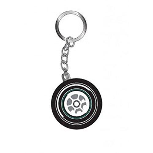 mercedes-amg-petronas-f1-tire-keychain