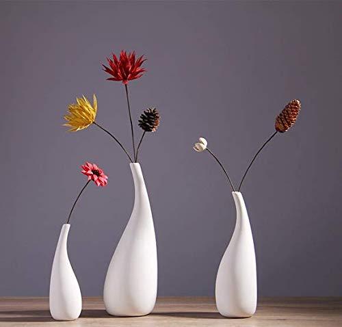XDD Chive Pooley 2, Unique Rectangle Ceramic Flower Vase, Small Bud Vase, Decorative Floral Vase for Home Decor, Table Top Centerpieces, Arranging Bouquets, Set of 8 Tubes Connected (L 32X12CM)