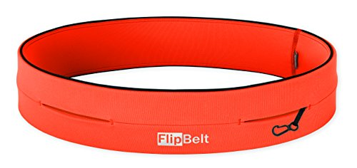 "Level Terrain FlipBelt Waist Pouch, Neon Punch, X Large/35"" 38"""