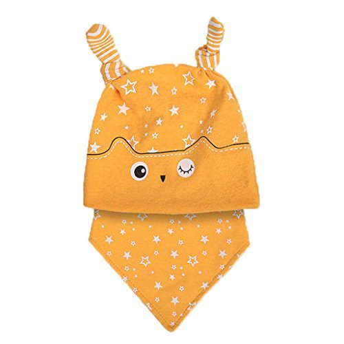 baby-scarf-and-hattodaies-baby-girls-2pcs-set-hat-bandana-bib-saliva-towel-head-scarf-cute-fashion