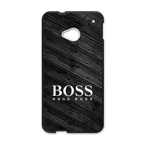 HTC One M7 Black Cell Phone Case Hugo Boss Brand Logo Custom Case Cover A11U531628