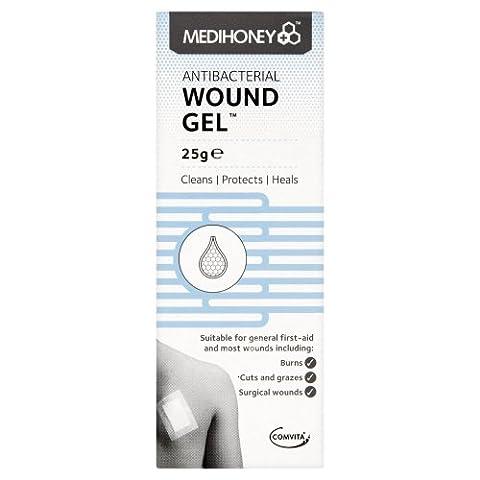 Medihoney Antibacterial Wound Gel 25 G Tube Brand New/Sealed -