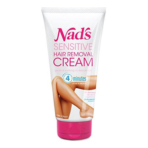 NAD'S 4903EN06 Sensitive Hair Removal Cream, 5.1 Ounce