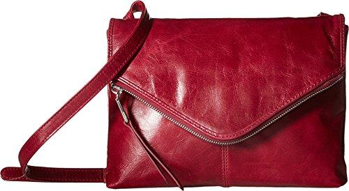 [Hobo Women's Adelle Leather Crossbody Shoulder Bag (Red Plum)] (Hobo Purses)