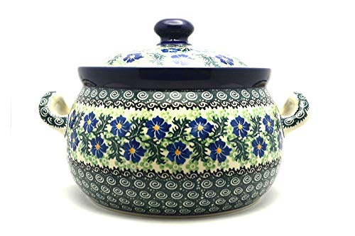 Polish Pottery Covered Tureen (without ladle slot) - Sweet Violet