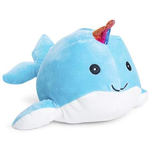 Squishmallow Kellytoy 11.5 Inch Narwhal Super Soft Plush Toy Pillow Pet (Horn Color May Vary)