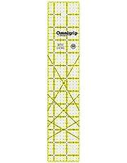 Dritz Omnigrip Non Slip Quilter's Ruler, 2-1/2 by 12-1/2-Inch