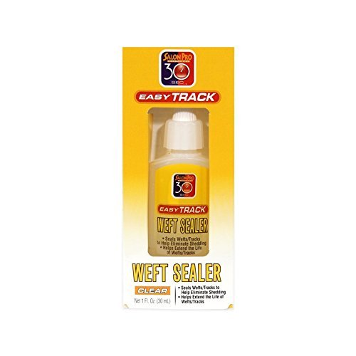 Salon Pro 30 Sec Easy Track Weft Sealer - Clear 1 oz. by ...