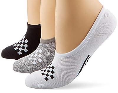 Vans 3 Pack Check Liner Womens Socks Multi, 9