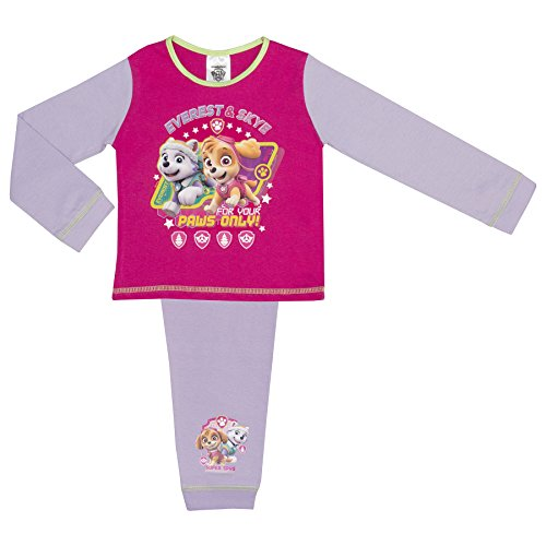 Price comparison product image Paw Patrol Girl Pup Power Girls Pink Pyjama Se - Paws Only 18-24 months/92 cms
