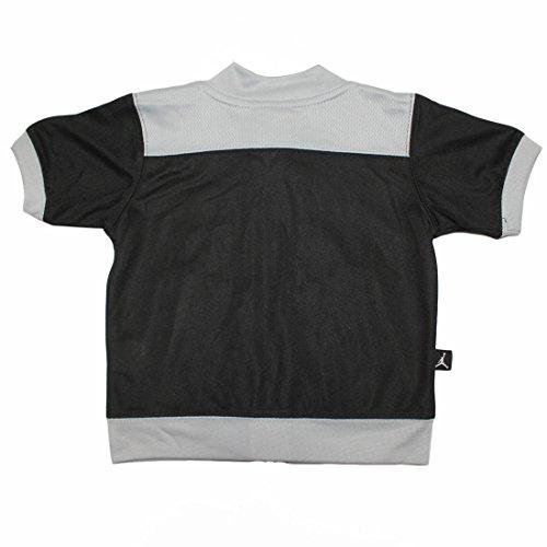 AIR JORDAN by Michael Jordan #23 Baby Boys Dri-Fit Outdoor Zip-Up Track Jacket 6-9M Black