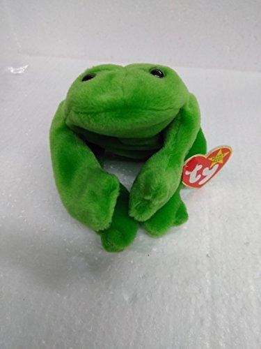 Bobble Frog - FROG BEANIE BABY TY LEGS Bobblehead