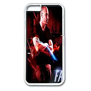 iPhone 6 case ,fashion durable transparent side design phone case, pc material phone cover ,with the picture of fast and furious 7 .