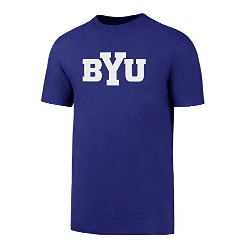 NCAA Byu Cougars Men's OTS Rival Tee, Royal, X-Large