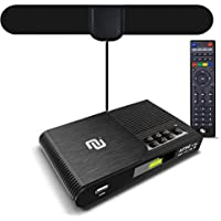 NUNET TV Converter Box Digital to Analog ATSC Streaming Media Players VHF/UHF HD TV Box PVR DVR Recorder w. 35 Miles…
