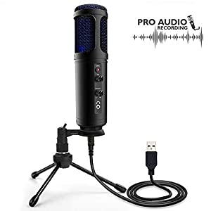 USB PC Recording Condenser Microphone –...