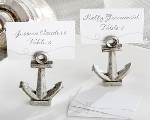Kate Aspen Nautical Anchor Place Card/Photo Holder