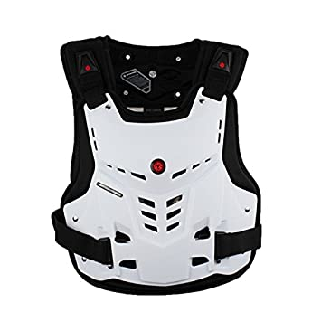 A.B Crew Motorcycle Body Armor Adult Street Bike Chest Protector Off-Road Dirt Bike Vest Protector FBA_HJ10-2-2