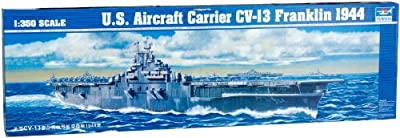 Trumpeter 1/350 U.S. Aircraft Carrier CV-13 Franklin 1944