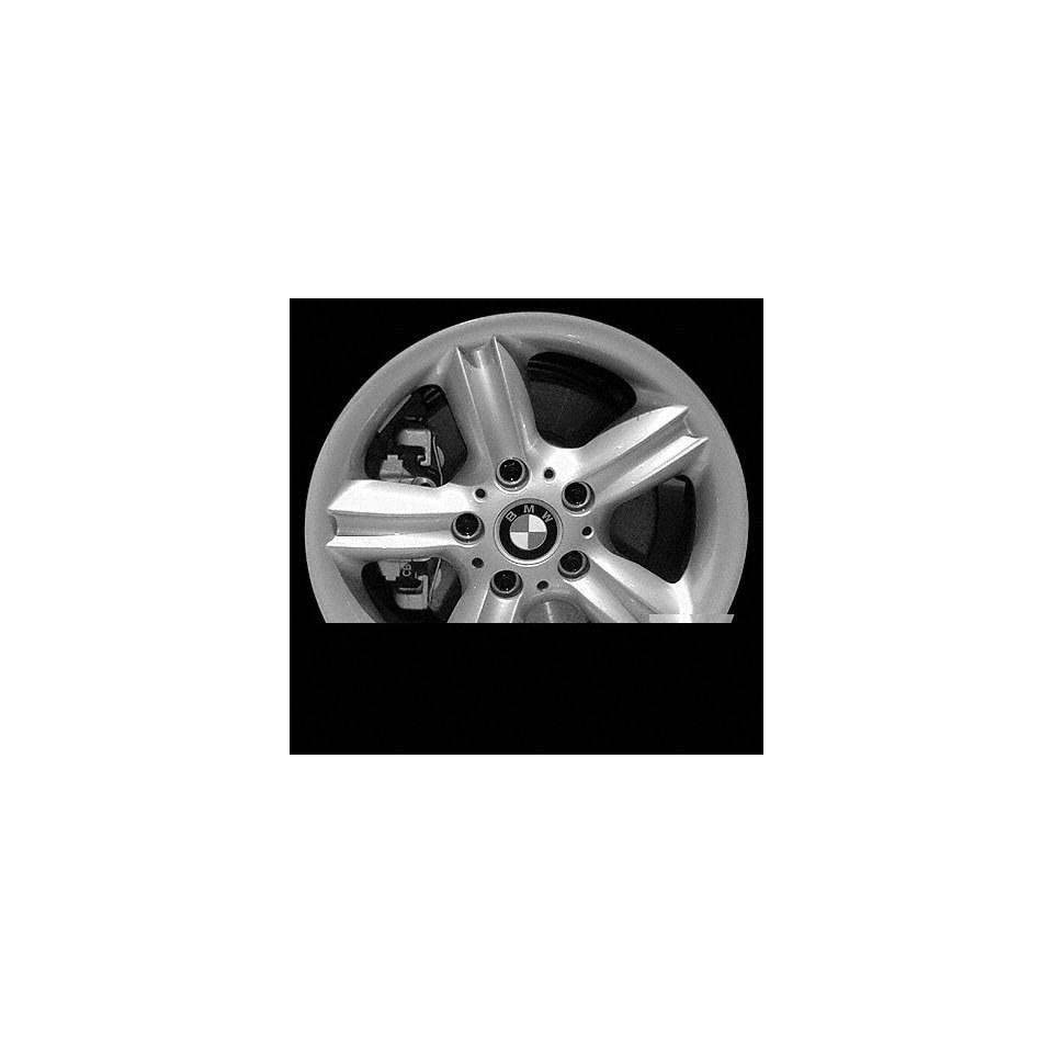 00 02 BMW Z3 ALLOY WHEEL RIM 16 INCH, Diameter 16, Width 7 (5 FLUTED SPOKE), 46mm offset, SILVER, 1 Piece Only, Remanufactured (2000 00 2001 01 2002 02) ALY59324U10