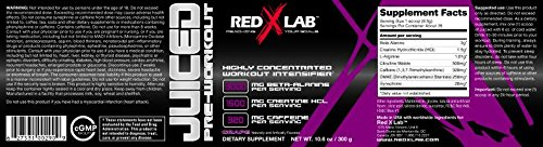 Red X Lab Juiced PreWorkout Grape 300 g
