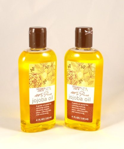 Trader Joes 100% Pure Spa Jojoba Oil - Cruelty Free - Two. 4-Oz bottles