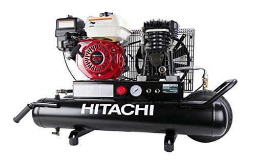 Hitachi EC2510E 8 Gallon Gas Powered Wheeled Air Compressor