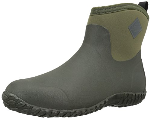 Muckster ll Ankle-Height Men's Rubber Garden Boots,Moss/Green,7 M US