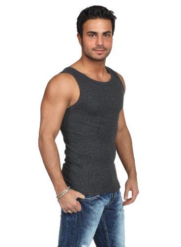 Urban Classics - Mens Tanktop TB066 T-Shirt Männer Charcoal Größe M ...