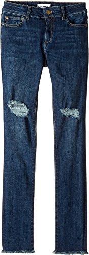 DL1961 Kids Girl's Chloe Skinny Jeans in Willow (Big Kids) Willow 16 (Jeans Sleek Straight Skinny)