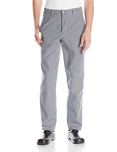 Chef Designs Men's Spun Poly Checked Cook Pant